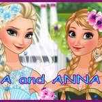 Anna & Elsa Make-up