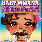 Baby Moana At The Dentist