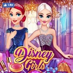 Disney Girls Gala Prep