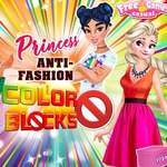 Princess Anti-fashion: Color Block