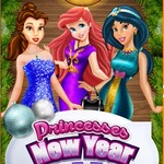Princesses New Year Ball